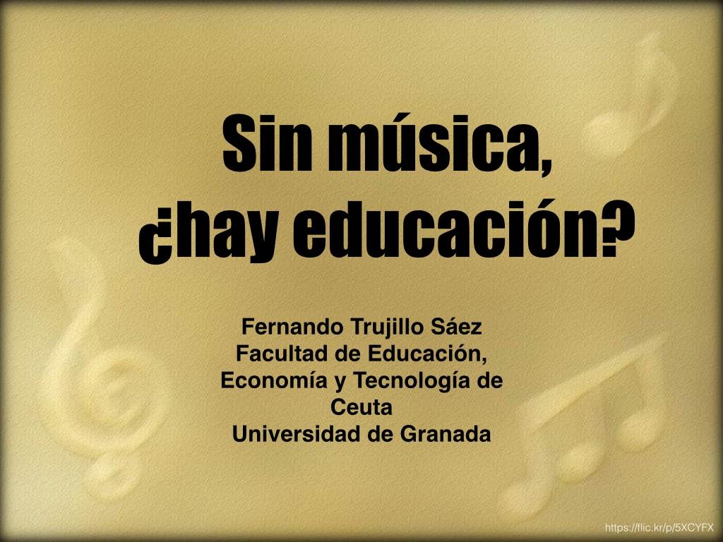 Sin música, ¿hay educación? Ponencia en #ConEuterpe15