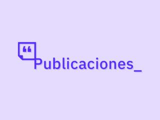 Artículos, Guías, Colaboraciones, Capítulos, Reseñas...